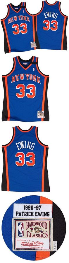 4f645f618 ... Throwback Jersey Basketball-NBA 24442 Patrick Ewing New York Knicks  Mitchell And Ness Authentic 1998 Blue ...