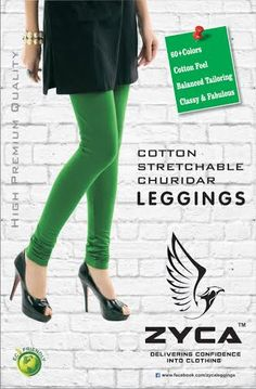 COTTON STRETCHABLE LEGGINGS