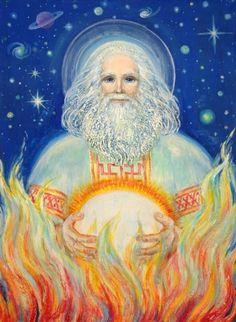 Dazbog- Slavic myth: a solar deity and most likely a cultural hero.