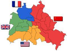 Antecedentes del muro de Berlín [El 9 de noviembre de 1989 caía el muro de Berlín y con él se ponían fin a 28 años de división de la ciudad alemana. Pero para entender las razones de la construcción del muro, símbolo de un periodo de nuestra historia, es necesario remontarse más atrás en el tiempo. En concreto, hasta el final de la Segunda Guerra Mundial. En abril de 1945, tras la capitulación alemana, el país germano pasa a estar ocupado por los aliados, vencedores de la contienda mundial.]