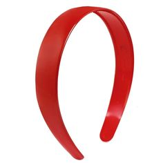 Uxcell Plastic Toothed Ladies Hair Hoop or Headband Ornament, Red, 0.04 Pound ** You can get additional details at the image link. (Amazon affiliate link)
