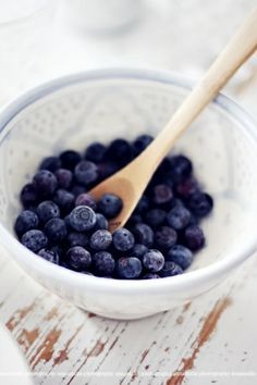 ♔ Blueberries