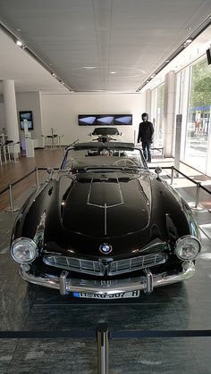 1958 bmw 507 - New Sites Bmw Classic Cars, Classic Sports Cars, My Dream Car, Dream Cars, Bmw V8, Bmw Vintage, New Luxury Cars, Bavarian Motor Works, Bmw Alpina