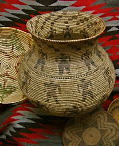 When interested in purchasing Native American baskets, Durango, residents turn to Toh-Atin Gallery. Visit our site to see our gallery. American Indian Art, Native American History, Native American Indians, Native American Baskets, Native American Pottery, Native Indian, Native Art, Navajo Art, Indian Baskets