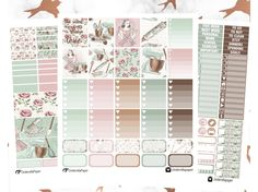 "Printable ""Made With Love "" weekly kit 