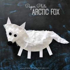 We recently watched a show about arctic animals and my kids thought the Arctic Fox was adorable. We decided it would be fun to make one as a craft so we put together this Paper Plate Arctic Fox Craft. If your kids love arctic animals, you might also enjoy our Polar Bear Mask. {This post …