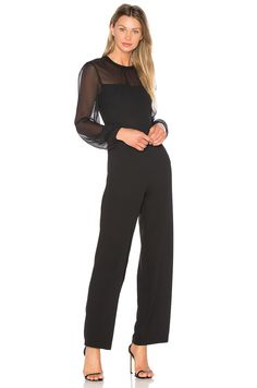ed835fa93423 Finders Keepers Amos Jumpsuit in Black