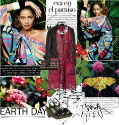 """""""Mother Earth"""" by nikolina-pinto ❤ liked on Polyvore"""