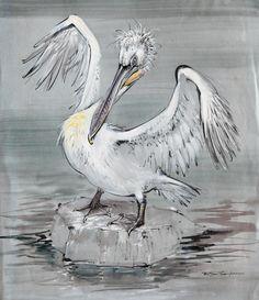 Pelican by Ralph Thompson