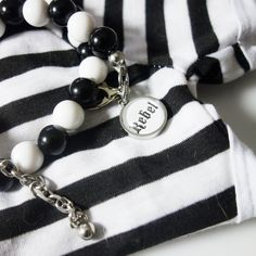 Rebel necklace for dogs, beads with a statement. Rebel Dog FURRY TALES, www. Dog Necklace, Animal Jewelry, Rebel, Collars, Bling, Beads, Bracelets, Dogs, Products