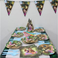 Cheap plate bending Buy Quality plates party supplies directly from China plate mould Suppliers paper plate cup napkin banner cartoon masha bear 20 people ... & Decorative Paper Plates and Matching Napkins | Decorative Plates ...