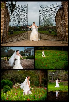 Bridal Portrait Funderburk + Wilbanks Summerall Chapel Wedding ©Rick Dean Photography 2013