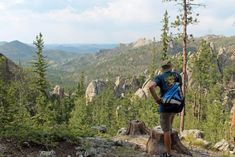 The Sunday Gulch Trail At Custer State Park In South Dakota Is Spectacular Hiking Dogs, Hiking Trails, South Dakota Travel, Sylvan Lake, Custer State Park, Hiking With Kids, Travel Channel, Park Service, Travel Usa