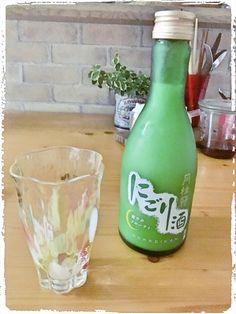 日本酒。にごり酒。