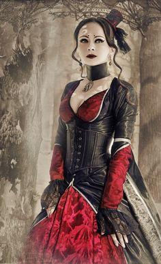 Beautiful black/red