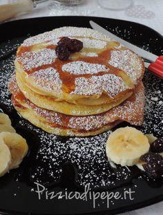 Pancakes americani, con esubero di pasta madre