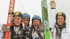 Skispringen: Gold für die Mannschaft um Schmidt