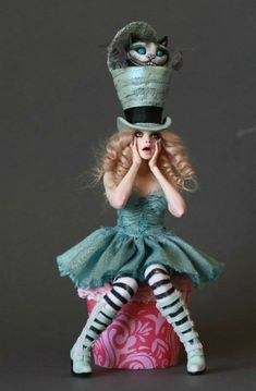 Alice in Wonderland the mad hatter costume make yourself Costume ide .Alice der hutmacher id in costume Make the Mad Hatter Costume yourself maskerix.deAlice in Wonderland the mad hatter costume make yourself Costume Art Costumes, Cool Costumes, Unique Costumes, Amazing Costumes, Candy Costumes, Costume Halloween, Halloween Fun, Tim Burton Halloween Costumes, Halloween Outfits