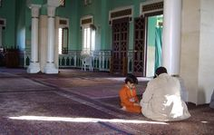 Egypt. In the mosque.