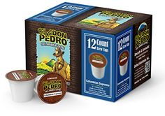 Cafe Don Pedro Colombian Supremo 72 Count Kcup Low-Acid Coffee ** Click image for more details.