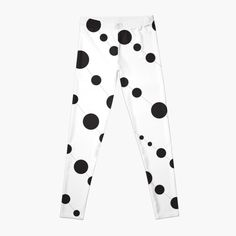 'Abstract Falling Black Spheres' Leggings by CreatedProto Best Leggings For Work, Best Christmas Gifts, Workout Leggings, Fun Workouts, Knitted Fabric, Chiffon Tops, Latest Fashion, Pajama Pants, Abstract