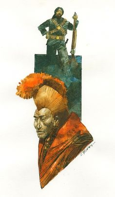 La collana di Padmasumbawa  back cover - Sergio Toppi Comic Art