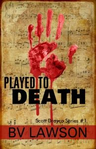"$2.99 Mystery in ""Played to Death"" by BV Lawson    Played to Death by BV Lawson  $5.99 $2.99 NEW Release Sept 18-30, 2014 Former piano prodigy turned FBI agent Scott Drayco is suffering nightmares from his last case as a private consultant. To add insult to injury, he's bequeathed an unwanted and rundown Opera House in Cape Unity, a down-on-its-luck seaside village where vacation homes were once a playground for the rich. His hopes for a quick sale are dashed wh"
