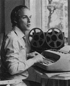 The reel to reel typewriting Brian Eno.