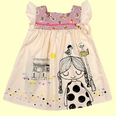 I don't love most little girl's clothes, but I LOVE this!