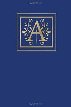 Ruled Monogram Journal A
