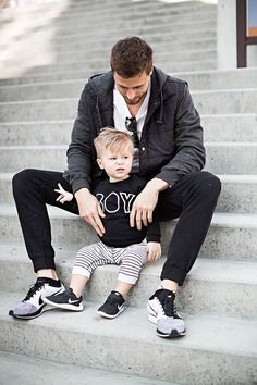 Father and son Daddy And Son, Dad Son, Father And Son, Daughter, Cute Family, Baby Family, Family Goals, Father Son Photography, Family Photography