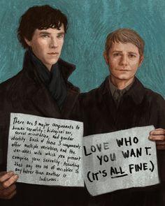 Perfectly said! Perfectly Sherlock and John.