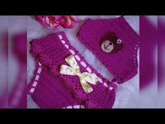 YouTube Crochet Designs, Crochet Patterns, Bikinis Crochet, Play Clothing, Crochet Bathing Suits, Cutwork Embroidery, Crochet Baby Clothes, Crochet Crop Top, Crochet Squares