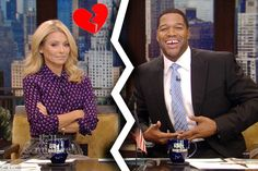 Kelly Ripa A No-Show: Michael Strahan Announces Departure On 'Live With Kelly And Michael'