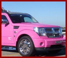 Pink Dodge Nitro...heck yes! :)