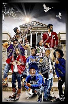 Delta Sigma Theta Gifts, Kappa Alpha Psi Fraternity, Omega Psi Phi, Sigma Gamma Rho, Alpha Kappa Alpha Sorority, Zeta Phi Beta, Sorority Life, Black Fraternities, Delta Girl