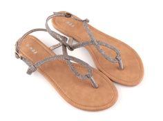 Sandales entredoigts femmes glitter Moa