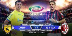 Prediksi ChievovsAC Milan Italia Serie A 26 Oktober 2017