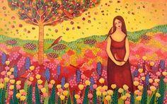 """""""Hoy brilla el sol en mi conciencia y en mi mente. Elijo solo pensamientos positivos, simplemente porque sé que mis pensamientos crean mi realidad. Me mantengo vibrando en paz, bondad y contento, creando con estos sentimientos un poder que me permite atraer lo mejor a mi vida. Estoy aquí para ser Feliz, la vida me ama, amo la vida!"""" Basado en la filosofía de Louise Hay."""