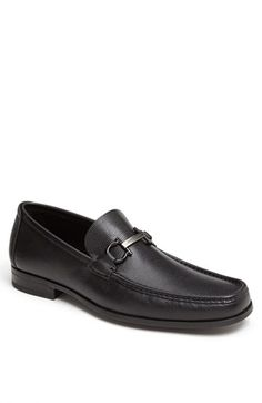 Salvatore Ferragamo 'Regal' Pebbled Leather Loafer available at #Nordstrom