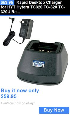 Batteries and Chargers: Rapid Desktop Charger For Hyt Hytera Tc320 Tc-320 Tc-320U Radio BUY IT NOW ONLY: $59.95