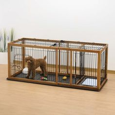 dog kennels with potty area | Expandable Pet Enclosure / Dog Crate at Brookstone—Buy Now!