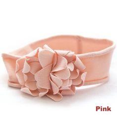 Colourful Baby World - Baby Soft Flower Headband Light Pink, £4.50 (http://www.colourfulbabyworld.com/baby-soft-flower-headband-light-pink/)