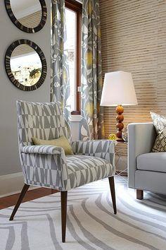 Sarah Richardson Sarah 101 Contemporary Living Room Midcentury Modern  Furniture Part 47