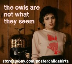Audrey Horne - Twin Peaks Poster Child Shirts on Ebay!!