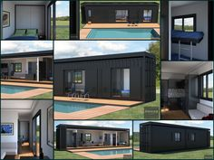 E-container, Energetic self sufficiency house  project