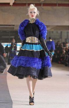 Winter shrugs & faux fur for Tree Manish Arora 2012-13 Fall/Winter