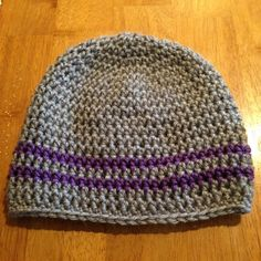 Customize Sports Team/ School Beanies by CogarCrochet on Etsy, $18.00