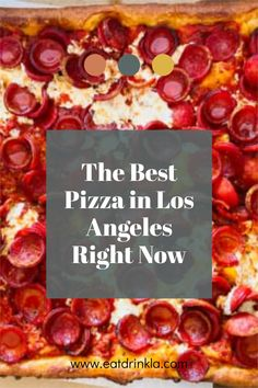 Where to go for the best pizza in Los Angeles right now! #pizza #losangeles #losangelestravel #pizzalosangeles Pizza Los Angeles, San Marzano Tomato Sauce, Tomato Pie, Good Pizza, Best Places To Eat, Pizza Recipes, Wine Country, Food Preparation, Street Food