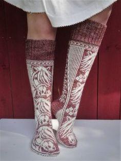 Joko, Knitting Socks, Cross Stitching, Leg Warmers, Knitting Patterns, Knit Crochet, How To Make, Kappa, Handmade Items